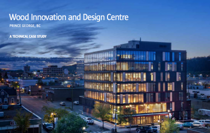Wood Innovation and Design Centre – Prince George, BC