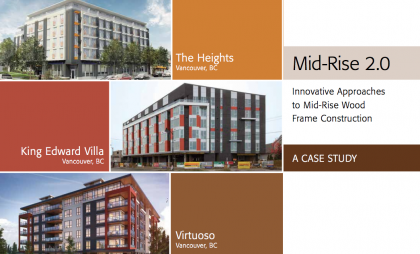 Mid-Rise 2.0 – Innovative Approaches to Mid-Rise Wood Frame Construction