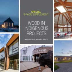 WOOD IN INDIGENOUS PROJECTS