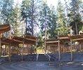 The Okanagan Mountain Fire Pavilion Kelowna, BC exterior