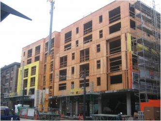 Jeffery Building, Portland, Oregon construction