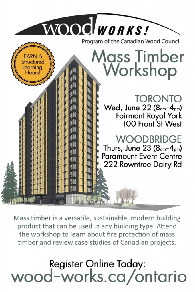 Mass Timber Workshop Promo June 2016