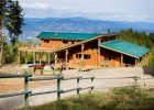 Guest House at Myra Canyon Ranch Kelowna, BC outdoors