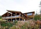 Guest House at Myra Canyon Ranch Kelowna, BC front view
