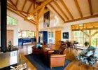 Guest House at Myra Canyon Ranch Kelowna, BC living space