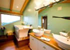 Guest House at Myra Canyon Ranch Kelowna, BC bathroom