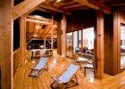 Guest House at Myra Canyon Ranch Kelowna, BC deck space