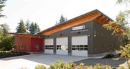 Oyster River Fire Hall Vancouver Island Black Creek, BC