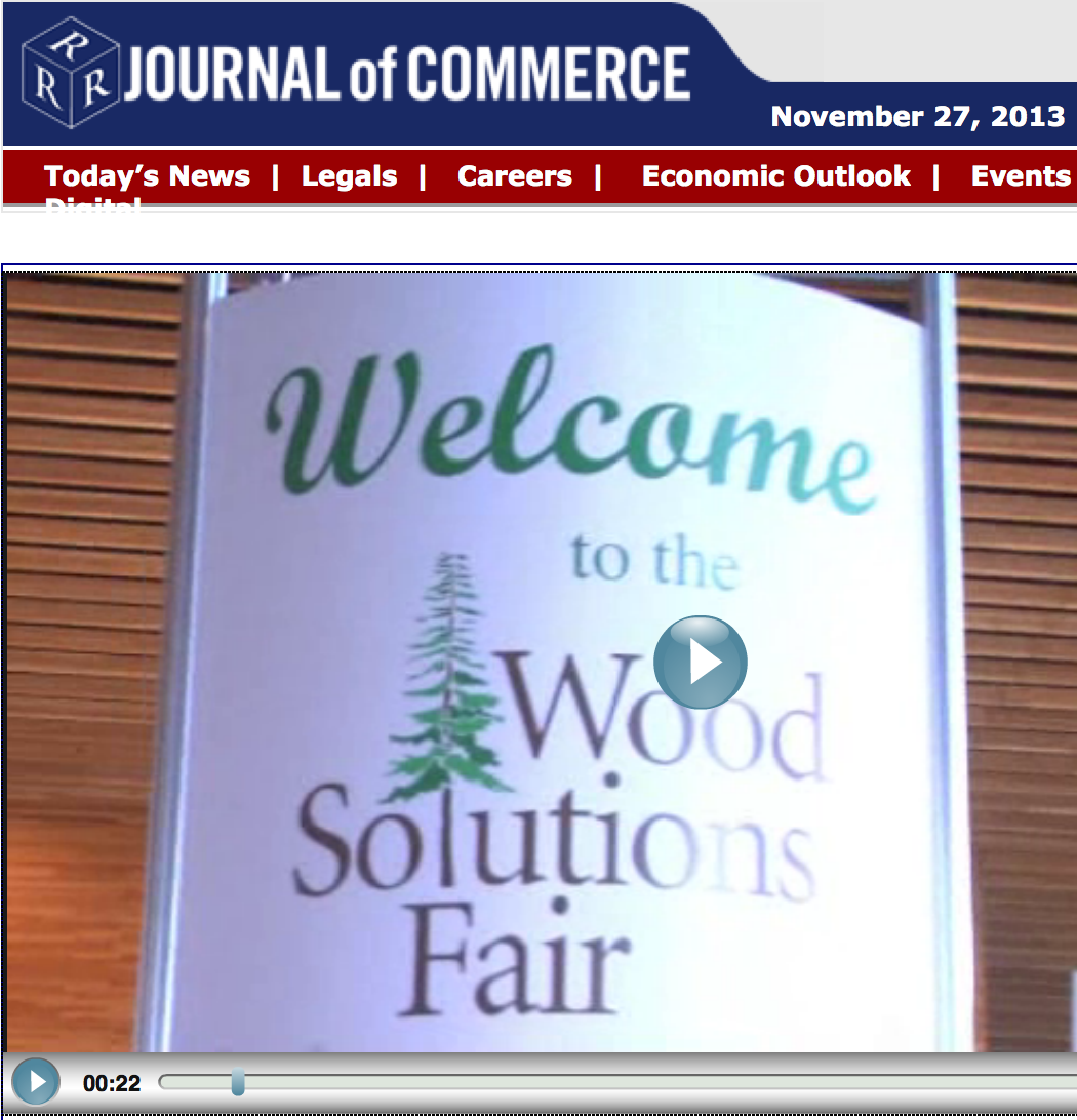 Video Interview BC's 2013 Wood Solutions Fair