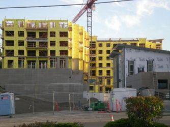 Seattle Area Midrise buildings under construction (Aug 2008)