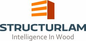 Structurlam logo-tagline colour