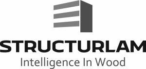 Structurlam logo-tagline grey