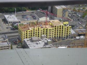 Marselle Condominium Project, Seattle, Washington aerial view