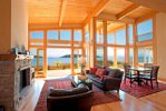 Wakefield Beach Homes Sechelt, BC living space
